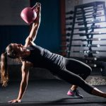 Marathon-Fitness-athletic-women-kettlebell
