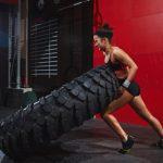 Marathon-Fitness-athletic-women-medicine-ball