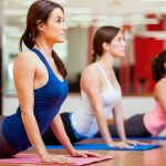 Marathon-Fitness-women-stretch yoga